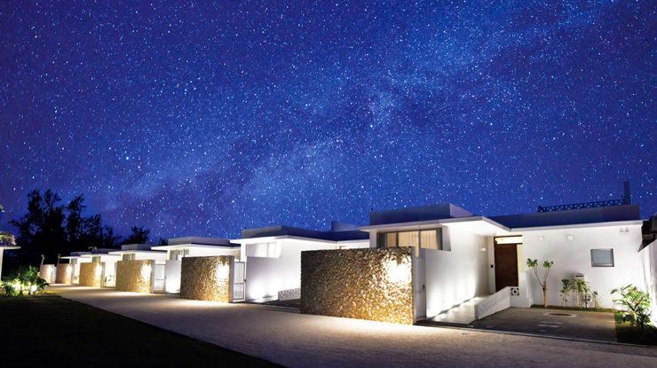 天気が良ければ満天の星空が。美しい夜空と静かな波音もアフターパーティの楽しみ