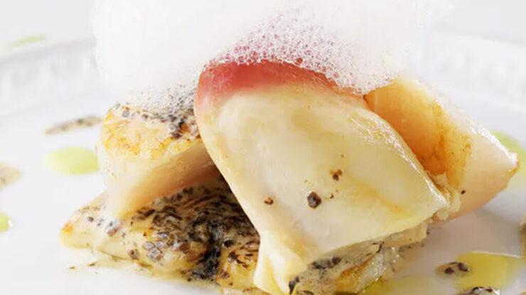 イタリアンらしく、新鮮な海鮮の味わいを引き出す一皿もこのレストランの魅力